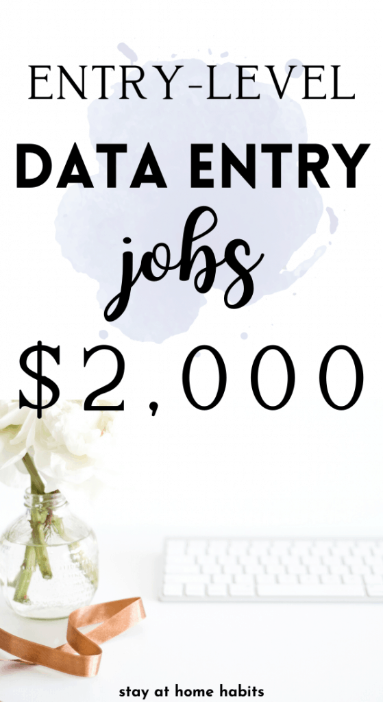 21 data entry jobs from home. Jobs from home for beginners that are legitimate.